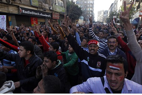 Anti-Morsi demonstrators head for Tahrir Squa