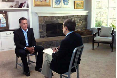 Fox News interview with Mitt Romney