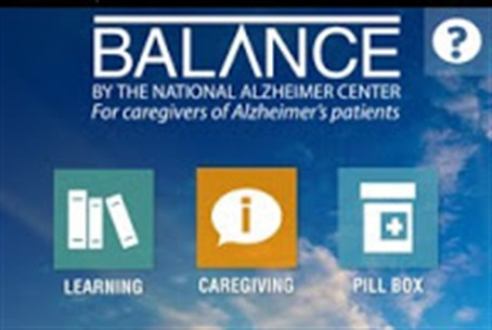 'Balance' app for Alzheimers caregivers