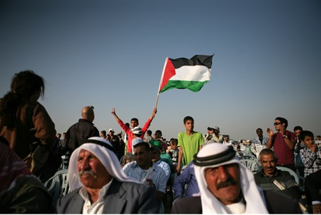 Bedouin rally in Negev against Prawer Plan (file)