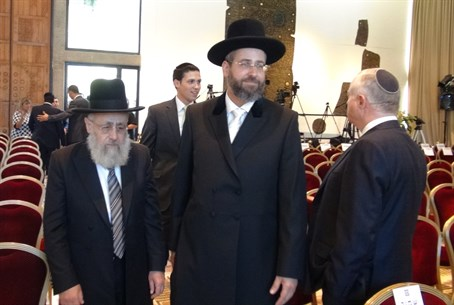 New Chief Rabbis in the President's Residence