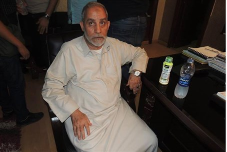 Egyptian Muslim Brotherhood leader Mohammed B