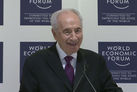 President Shimon Peres, World Economic Forum