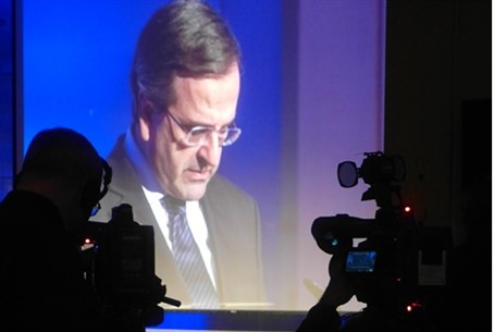 Greek PM Antonis Samaras addresses annual EU
