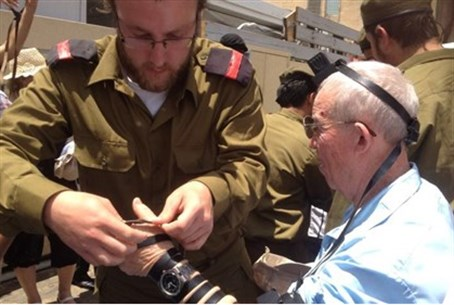 Sderot Holocaust survivors hold bar mitzvah a