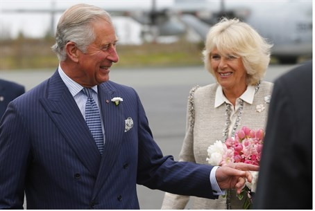 Prince Charles and his wife Camilla, Dutchess