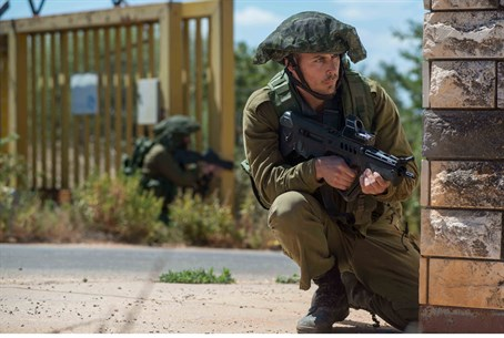 IDF soldiers on Lebanon border (file)