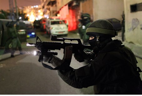 Yassam special forces in Jerusalem