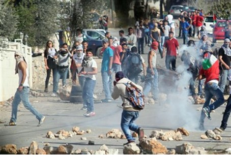 Riots in eastern Jlem