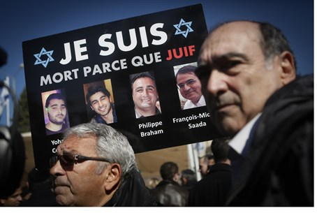 'l of Paris victims: 'I'm dead because I'm a Jew""