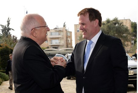 Rivlin (L) and Baird