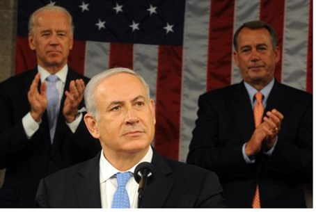 Netanyahu in Congress, 2011