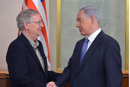 Netanyahu and McConnell
