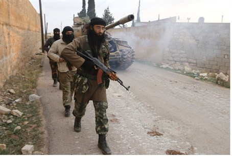Nusra Front fighters (file)