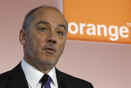 Orange Chairman and CEO Stephane Richard