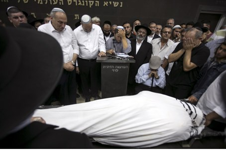 Israeli hiker Danny Gonne, murdered by an Arab terrorist, is laid to rest in Lod