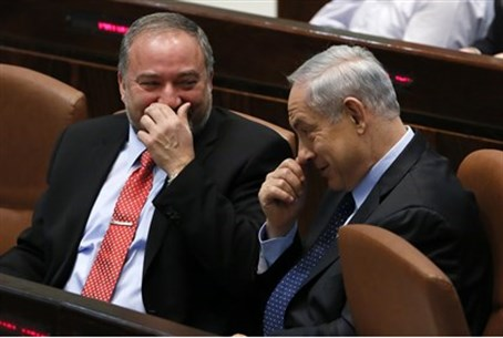 Liberman and Netanyahu
