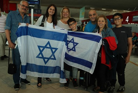 French family makes Aliyah