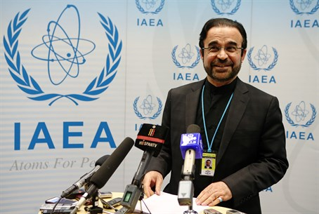 Iran's ambassador to the IAEA Reza Najafi
