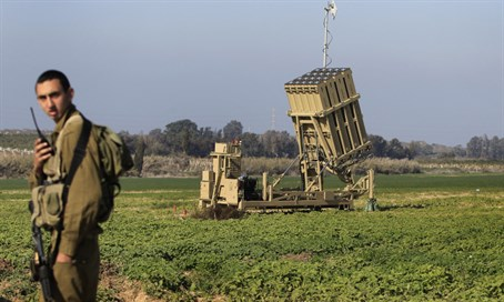 The Iron Dome system was not activated