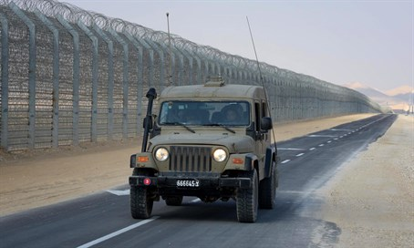 Israel-Egypt border (file)
