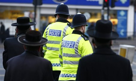British police, Jews (archive)