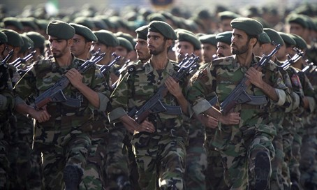 Iranian Revolutionary Guards
