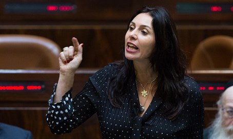 Culture and Sport Minister Miri Regev