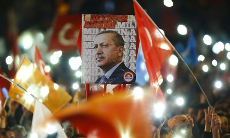 AKP supporters celebrate election victory