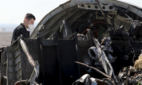 Russian investigator at site of A320-200 crash