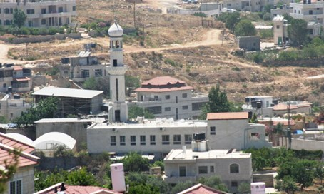 Illegal mosque in Jelazoun on state land