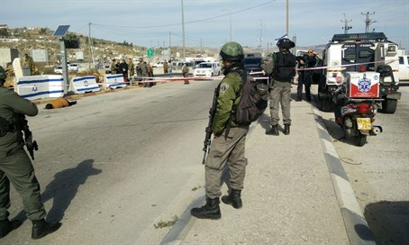 Attempted stabbing in Samaria