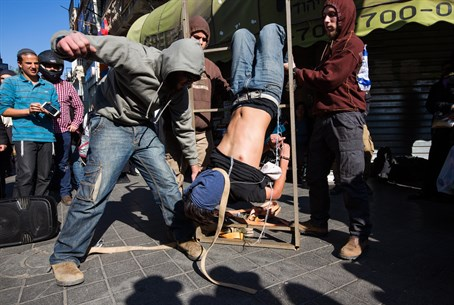 Duma protesters staged alleged ISA torture