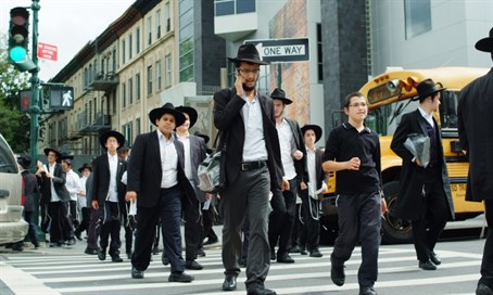 Jews in Brooklyn (illustration)