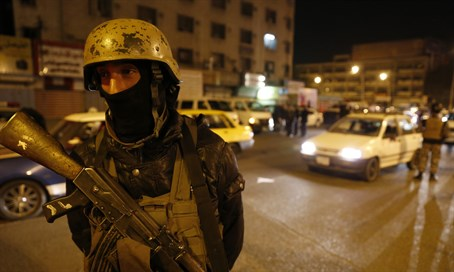 Iraqi security forces in Baghdad (file)