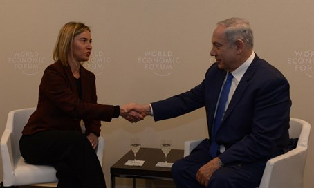 Netanyahu and Mogherini