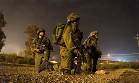 IDF Golani soldiers during the operation