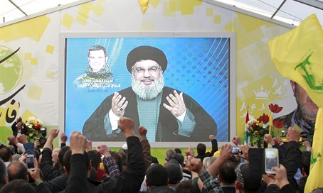 Nasrallah addresses his supporters