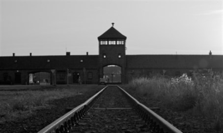 Auschwitz death camp in Poland (file)