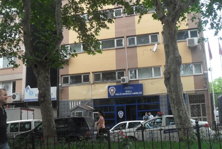 Turkish police station in Istanbul