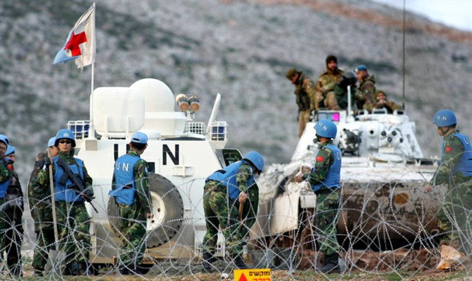 UNIFIL troops in southern Lebanon