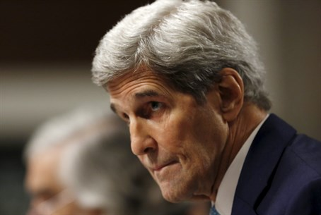John Kerry at Iran deal Senate hearing
