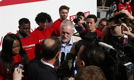 Labour leader Jeremy Corbyn under pressure to contain scandal ahead of elections