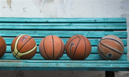 Basketballs (illustration)