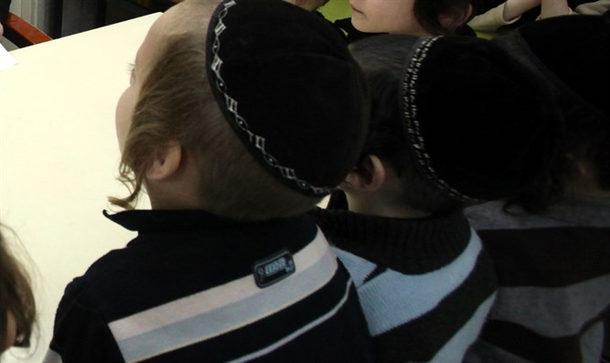 Haredi children (illustrative)