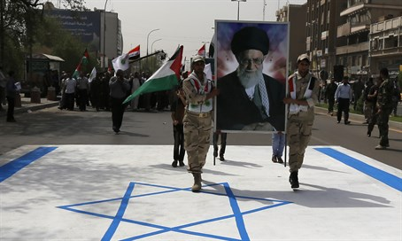 Quds Day march in Iran (file)