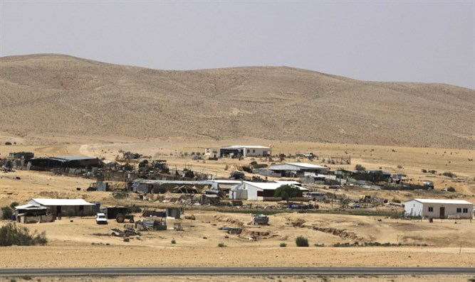 Bedouin village in the Negev