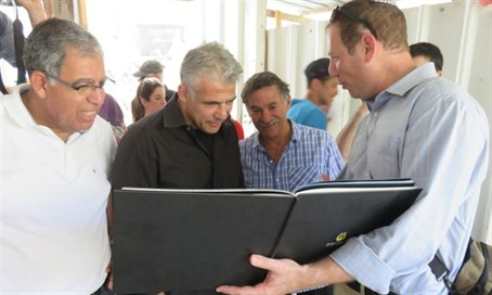 Yair Lapid in the City of David