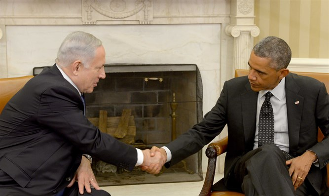 Netanyahu and Obama (archive)