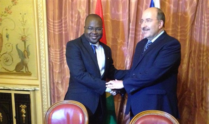 Dore Gold and Guinean Foreign Ministry director renew ties